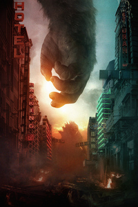 640x1136 2021 Godzilla Vs Kong