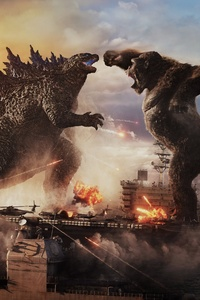 750x1334 2021 Godzilla Vs Kong Movie