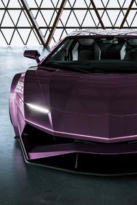 360x640 2021 Lamborghini Aventador Concept Cgi 5k