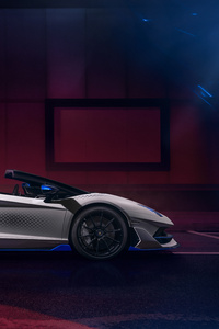 2021 Lamborghini Aventador SVJ Roadster Xago Edition