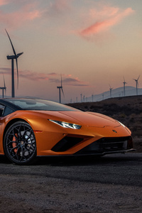 240x400 2021 Lamborghini Huracan Evo Rwd Spyder 5k