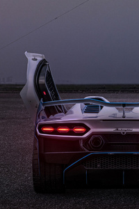 2021 Lamborghini SC20 Rear 4k
