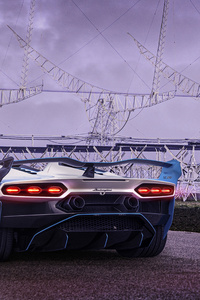2021 Lamborghini SC20 Rear View