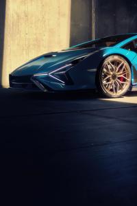 360x640 2021 Lamborghini Sian