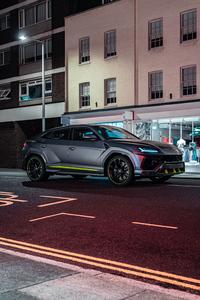 480x854 2021 Lamborghini Urus Graphite Capsule 5k