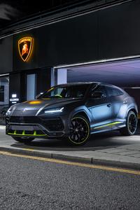480x854 2021 Lamborghini Urus Graphite Capsule 8k