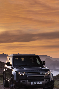 2160x3840 2021 Land Rover Defender 90 V8 Carpathian Edition
