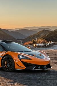 1242x2688 2021 McLaren 620R 8k