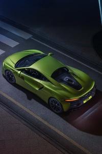 2021 McLaren Artura Upper View