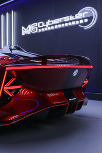 480x800 2021 MG Cyberster Concept Rear
