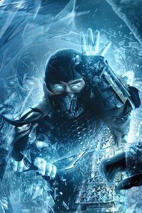 1242x2688 2021 Mortal Kombat Sub Zero Movie 4k