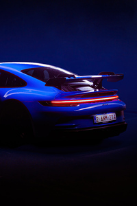 2160x3840 2021 Porsche 911 GT3 5k