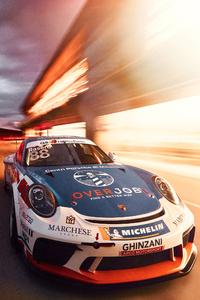480x800 2021 Porsche 911 Gt3 Cup 4k