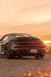 480x800 2021 Porsche 911 Targa 4S Heritage Design Edition 8k