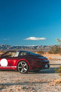 480x800 2021 Porsche 911 Targa 4S Heritage Design Edition