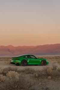 1125x2436 2021 Porsche 911 Turbo S 10k