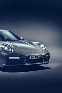 1242x2688 2021 Porsche 911 Turbo S 5k
