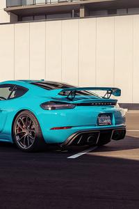 1080x2280 2021 Porsche Cayman GT4 5k