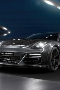 480x800 2021 Porsche Panamera Sport Turismo Grand Gt From Techart 5k