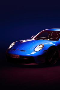 2160x3840 2021 Porsche911 GT3 5k
