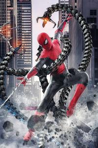 800x1280 2021 Spider Man No Way Home 4k