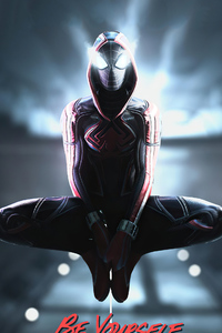 2021 Spiderman Miles Morales 4k