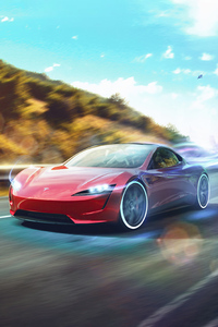 640x1136 2021 Tesla Roadster 5k