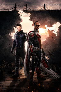 240x320 2021 The Falcon And The Winter Soldier 4k