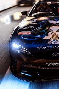 800x1280 2021 Toyota Supra 4k