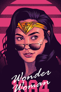 1440x2560 2021 Wonder Woman 1984