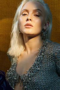 1440x2960 2021 Zara Larsson NME Magazine 5k