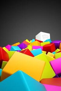 360x640 3d Cubes