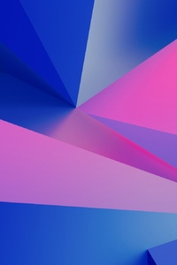 320x480 3d Geometry Abstract