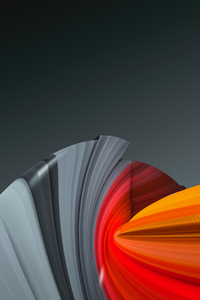 360x640 3d Shapes Art Motion 4k
