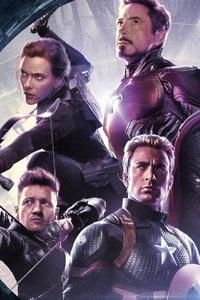 1080x1920 4k 2019 Avengers Endgame Original Six