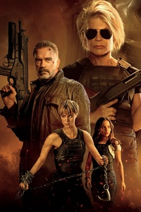 480x854 4k 2019 Terminator Dark Fate Movie