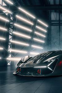 1080x2160 4k 2020 Lamborghini Terzo Millennio