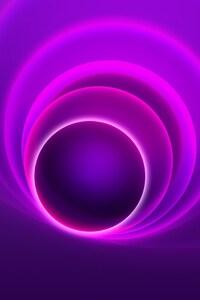 4k Abstract Circle