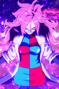 4k Android 21 Dragon Ball Fighter Z