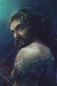 640x1136 4k Aquaman