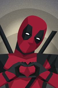 1280x2120 4k Art Deadpool