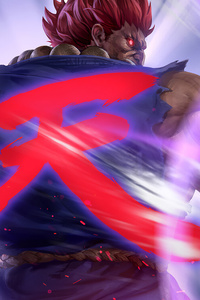 4k Artwork Akuma Street Fighter