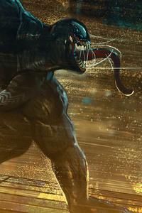 1280x2120 4k Artwork Venom