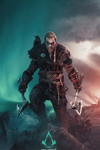 750x1334 4k Assassins Creed Valhalla Game