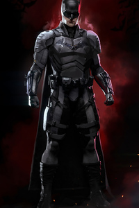 1280x2120 4k Batman 2020 Artwork