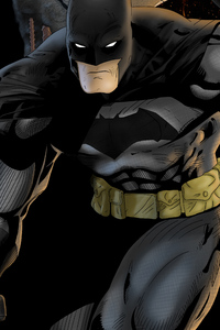 4k Batman Art