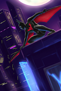 1242x2688 4k Batman Beyond 2020