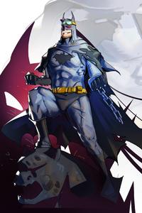 1280x2120 4k Batman Bruce Wayne