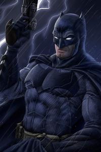 1080x2160 4k Batmanart