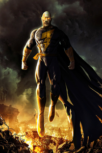 4k Black Adam Rock